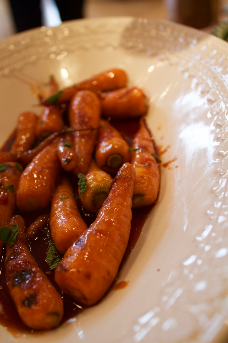 Smoky and Sweet Baby Chantenay Carrots