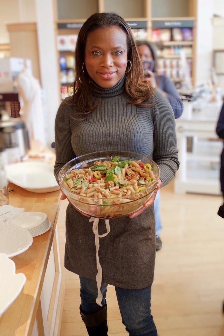Tuscan White Beans Pasta Salad