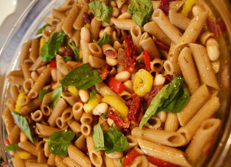 Tuscan White Bean Brown Rice Penne Pasta