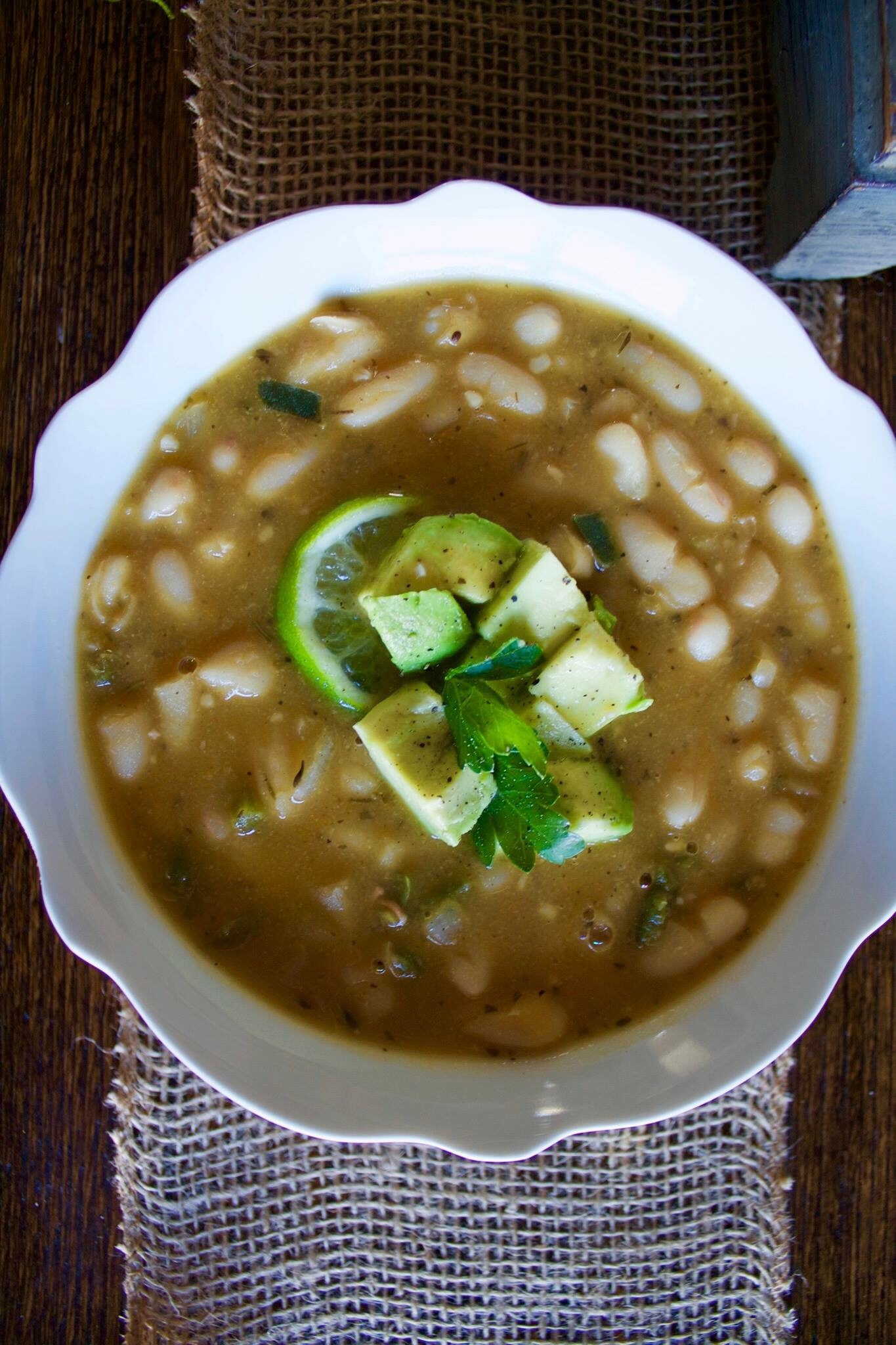 Vegan White Bean Chili